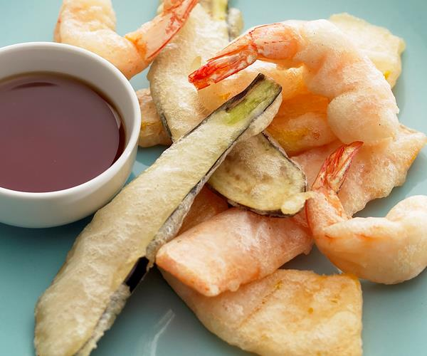 how to cook tempura prawns