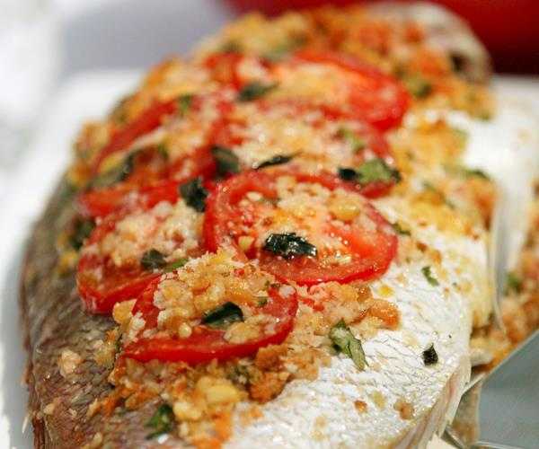 Baked Whole Fish Recipe Food To Love