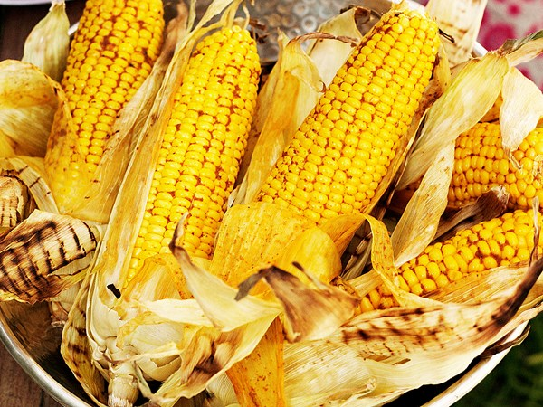 Vindaloo barbecued corn