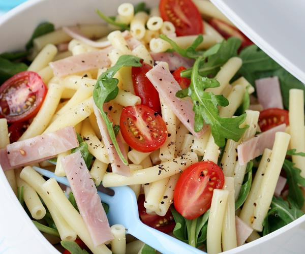 Pasta, tomato and cheese salad recipe | Food To Love
