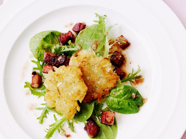 Potato Rosti with Salad