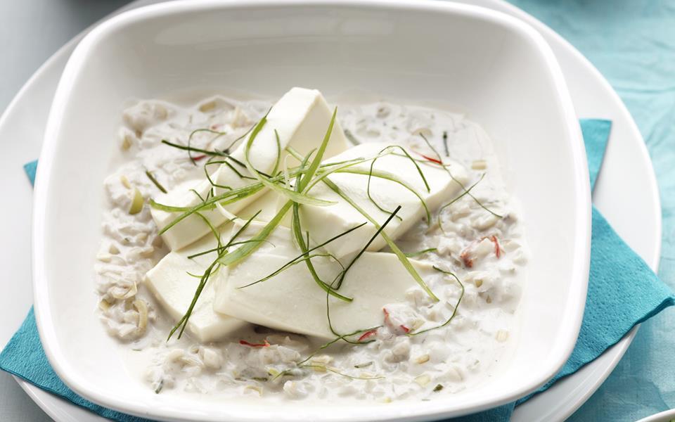 Tofu in spicy coconut milk recipe | FOOD TO LOVE