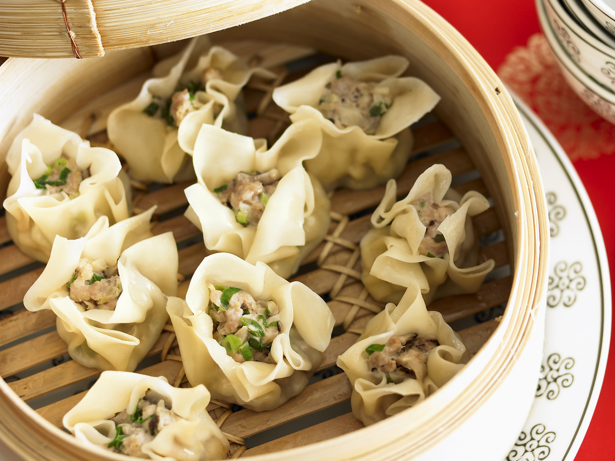 Easy steamed pork and chestnut dim sims recipe recipe food to love forumfinder Gallery