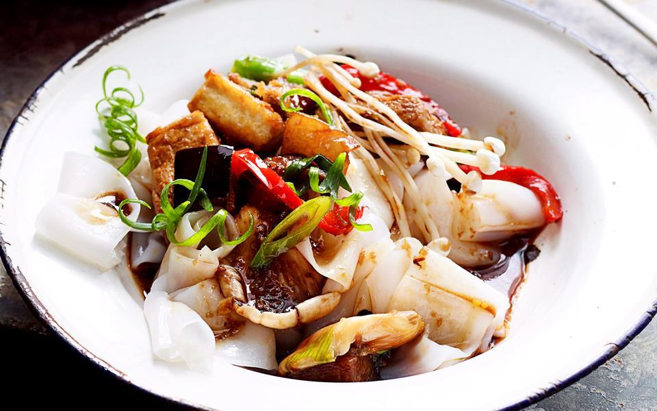 Teriyaki tofu and vegetables recipe | FOOD TO LOVE