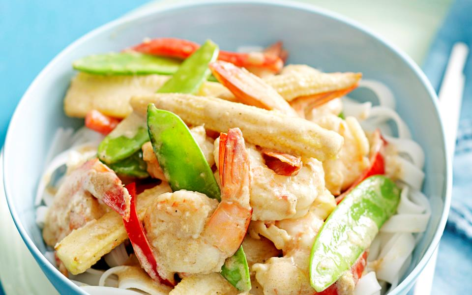 Thai Green Curry With King Prawns Recipes — Dishmaps