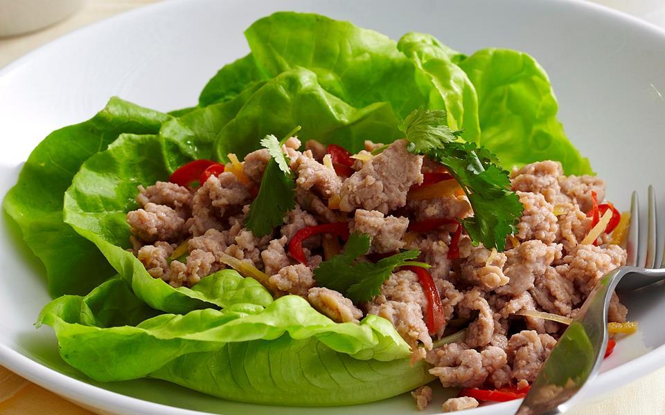 pork larb lettuce wrap pad thai pad thai pad thai pad thai pad thai ...