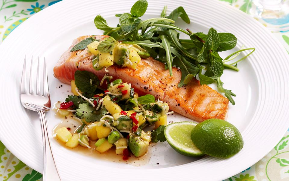 how to cook salmon for baby