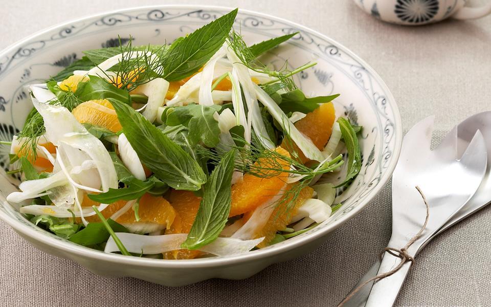 Fennel And Orange Salad Recipe — Dishmaps