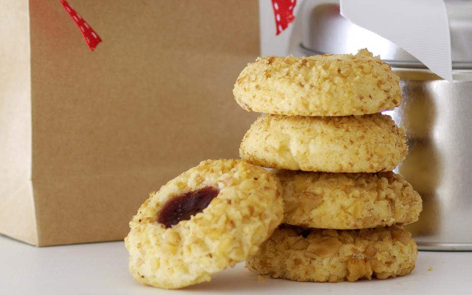 Jam thumbprint cookies recipe   FOOD TO LOVE
