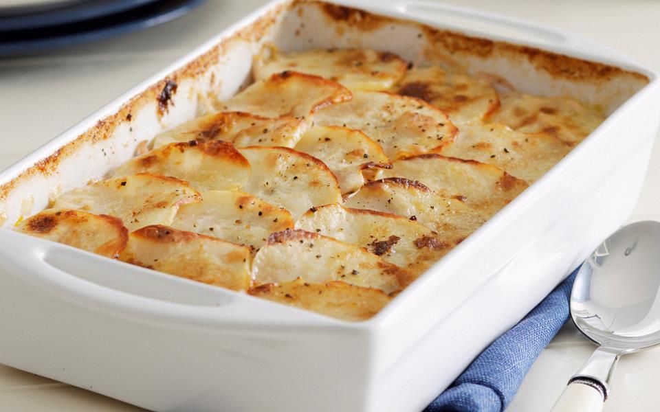 Leek and potato gratin recipe | FOOD TO LOVE