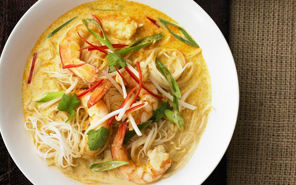 prawn laksa recipe food to love