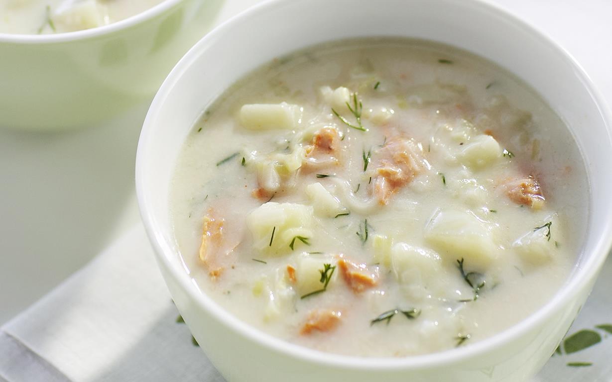 Salmon Chowder Recipe Food To Love