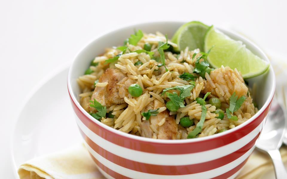 Thai chicken fried rice recipe | FOOD TO LOVE