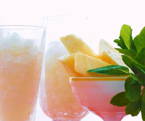 Lemongrass granita with pineapple recipe   Food To Love