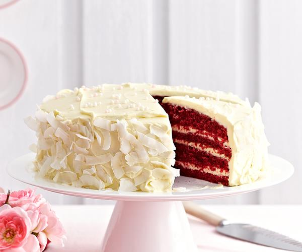 Women S Weekly Pink Velvet Cake Recipe
