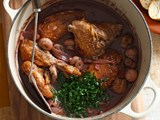 Cheat's coq au vin