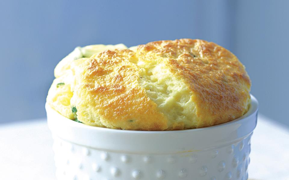 Cheese and herb souffle recipe | FOOD TO LOVE