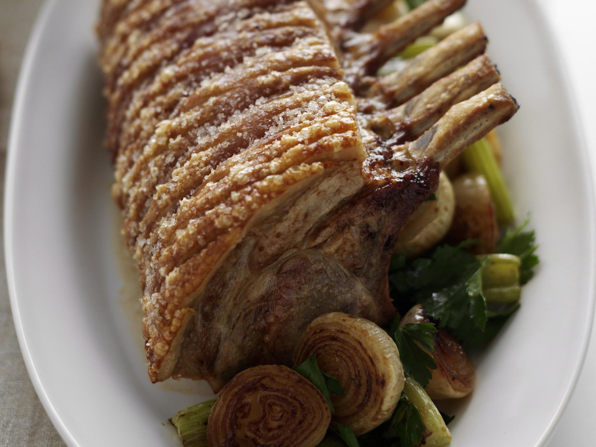 Pork rack recipe crackling