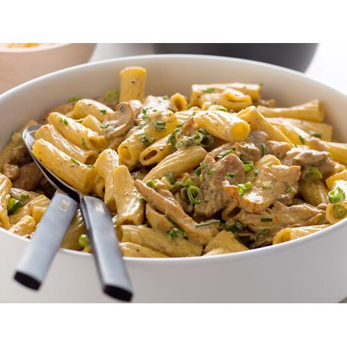 Creamy chicken and mushroom rigatoni recipe | Food To Love