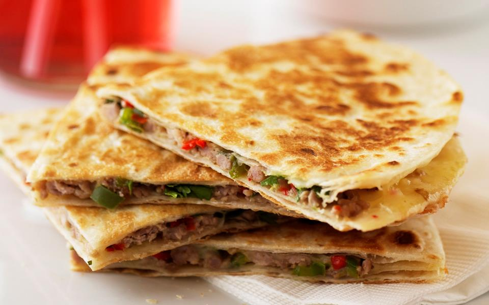 Pork and cheese quesadillas with guacamole recipe | FOOD TO LOVE