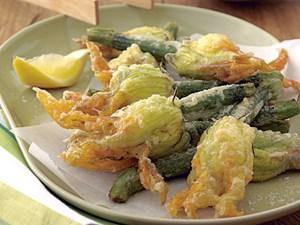 Stuffed zucchini flowers 2