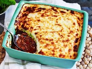 Zucchini not-quite-lasagne