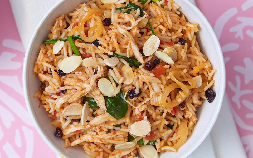 Chicken and tomato pilaf recipe | FOOD TO LOVE