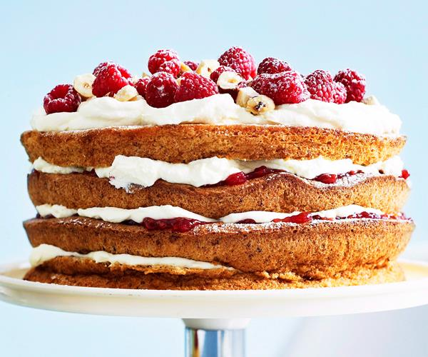 Danish hazelnut torte with raspberry jam recipe | Food To Love