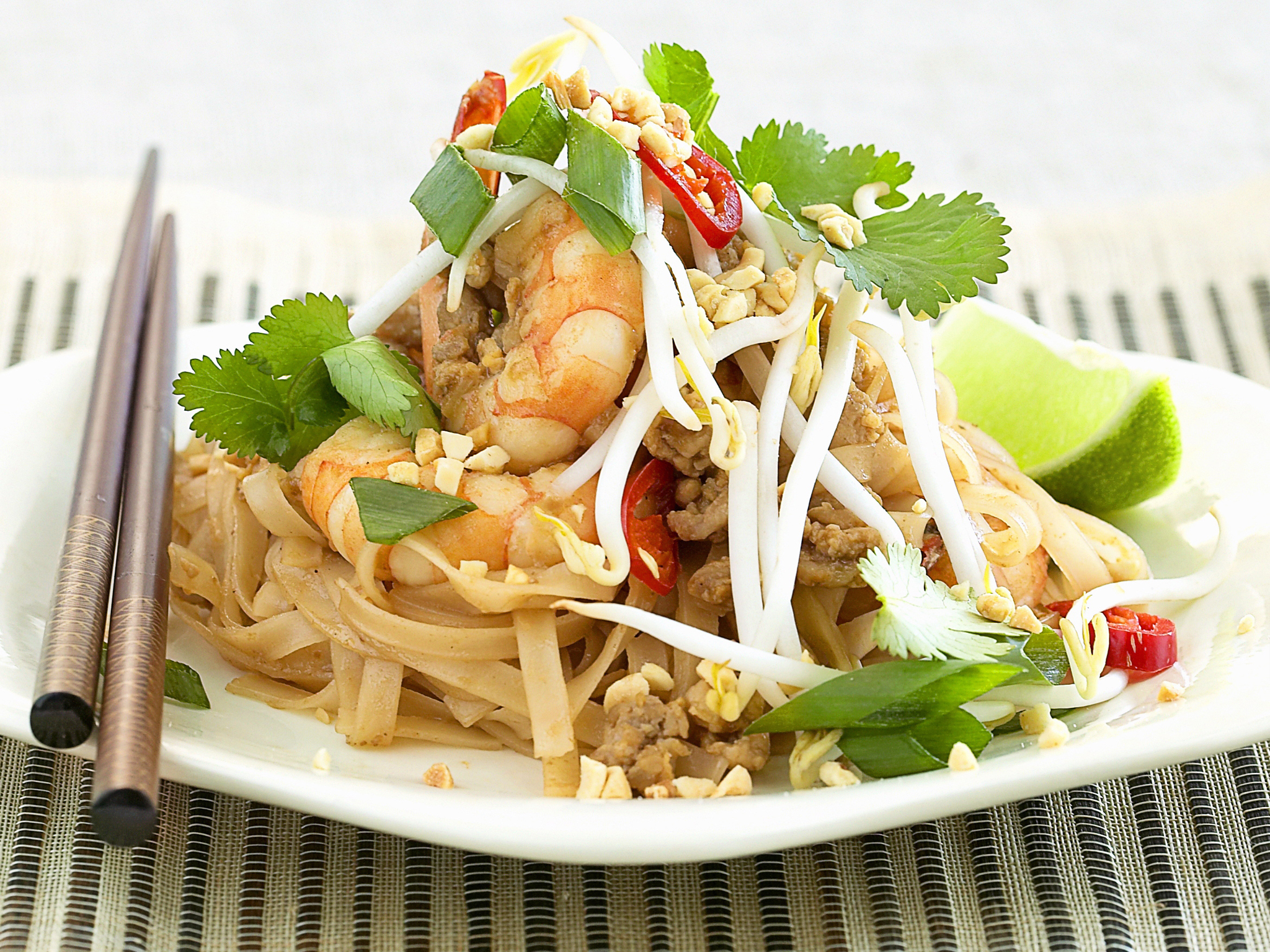 Prawn Pad Thai Recipe Food To Love