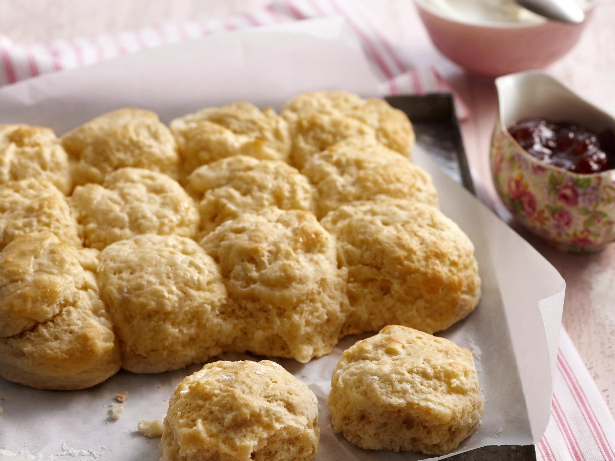 Lemonade scones