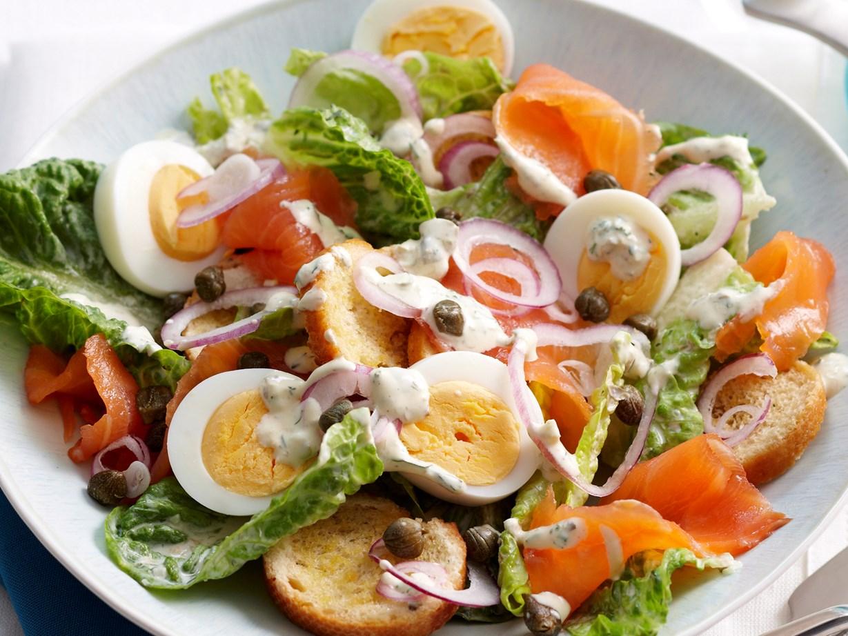 Салат из семги рецепты пошагово