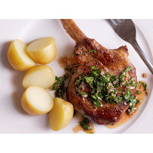 Veal cutlets with horseradish salsa verde recipe | Food To Love