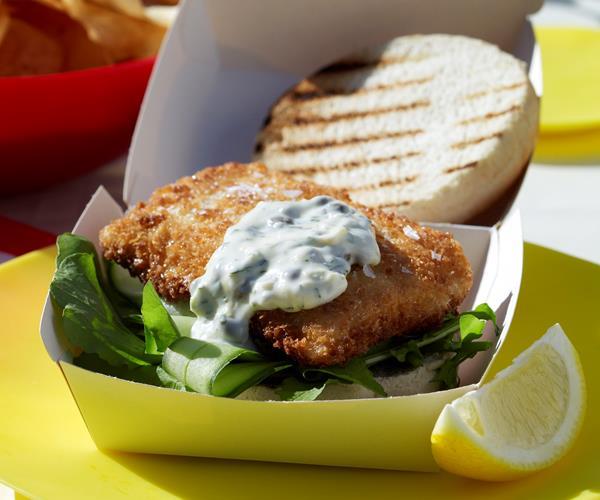 Fish burgers recipe food to love for Fish burger recipe