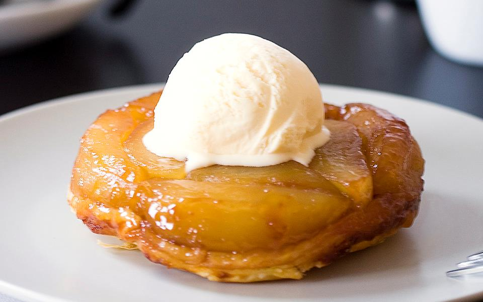 Apple Tarte Tatin, Anew Recipes — Dishmaps