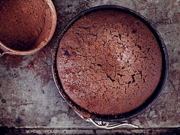 Chocolate orange mud cakes
