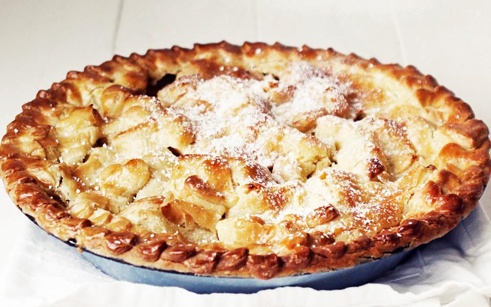 Easy apple pie recipe   FOOD TO LOVE