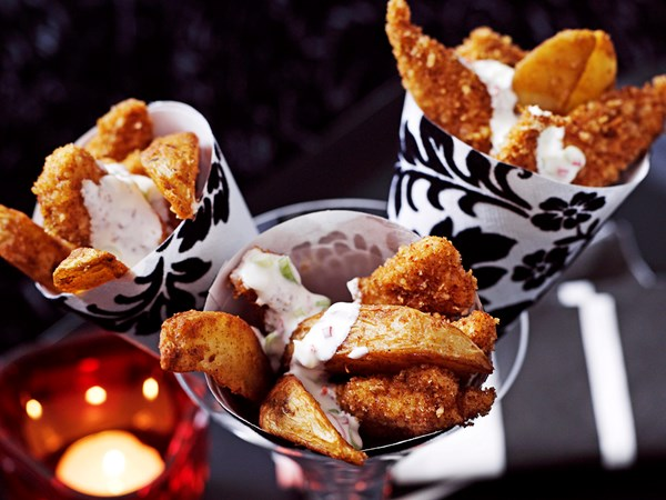 Hot chicky-wedge cones