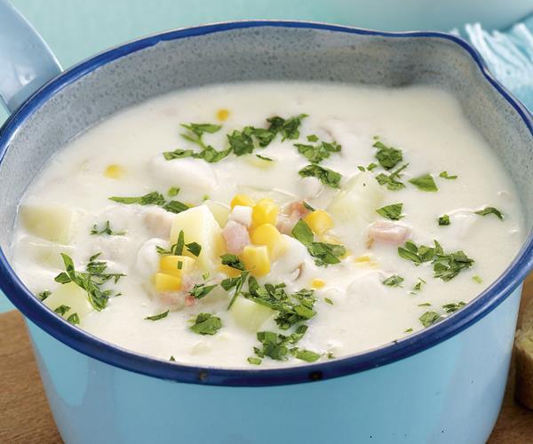 Creamy fish chowder recipe food to love for Best fish chowder recipe