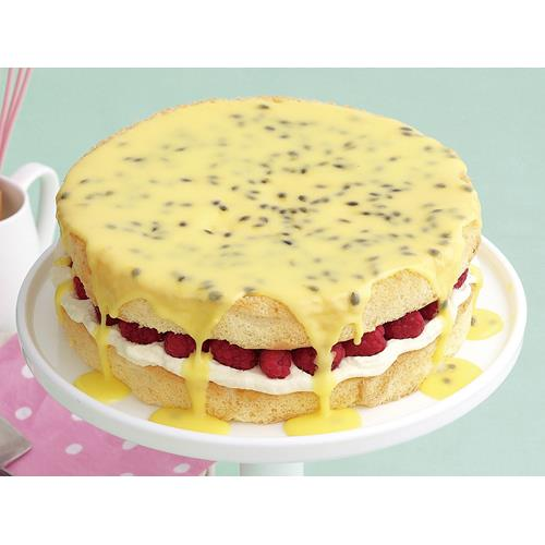 Sponge Cake With Passionfruit Icing Recipe
