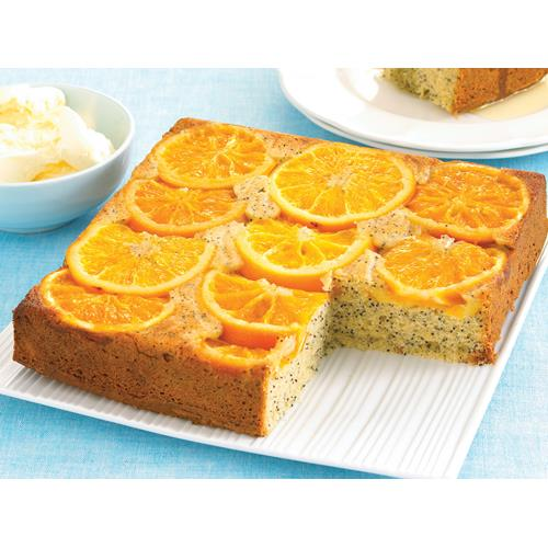Orange And Poppy Seed Cake Women S Weekly