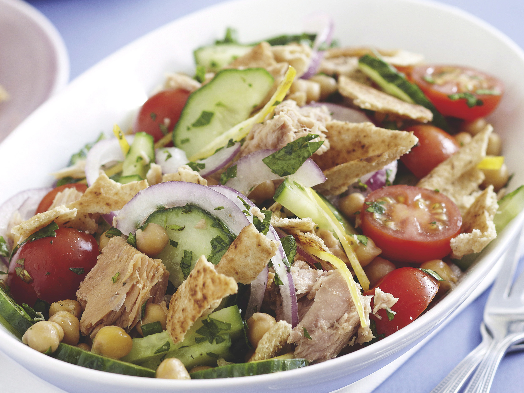 Lebanese tuna salad recipe food to love forumfinder Image collections