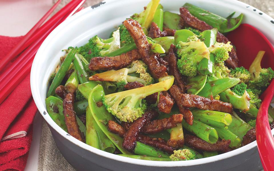 Beef and broccoli stir-fry recipe | FOOD TO LOVE