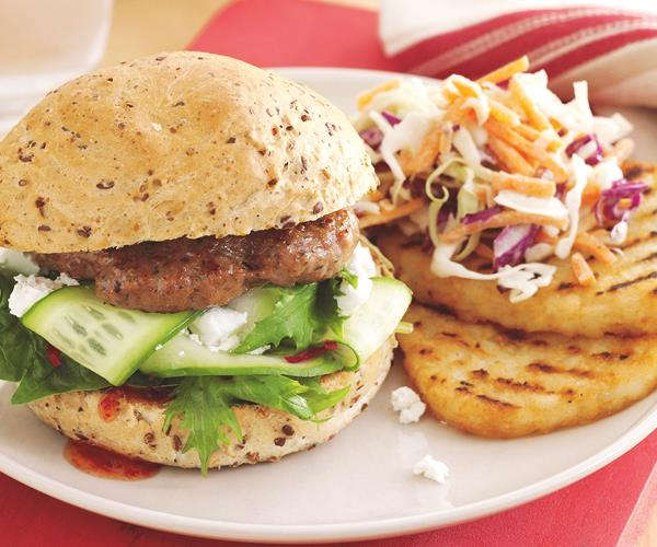 Greek lamb burgers recipe | Food To Love