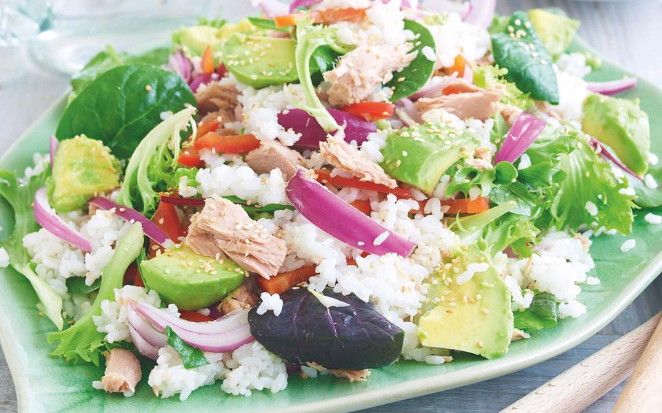 Tuna sushi salad recipe | FOOD TO LOVE