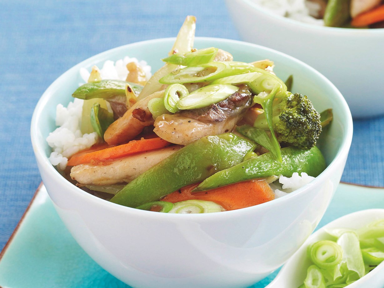 how to cook chicken stir fry with vegetables