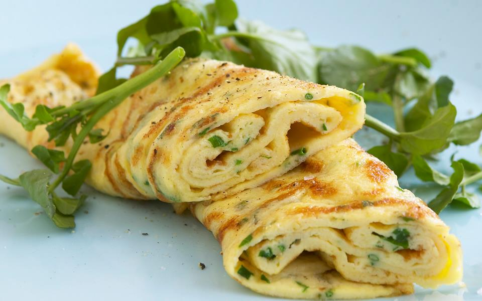 Fine-herb omelette recipe | FOOD TO LOVE