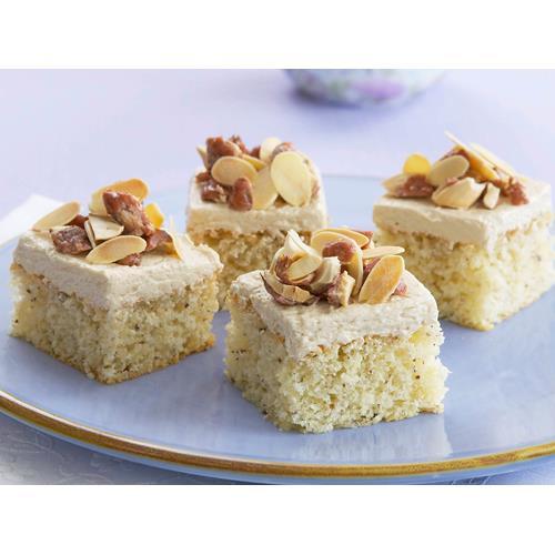 Hazelnut and coconut sponge squares recipe | Food To Love