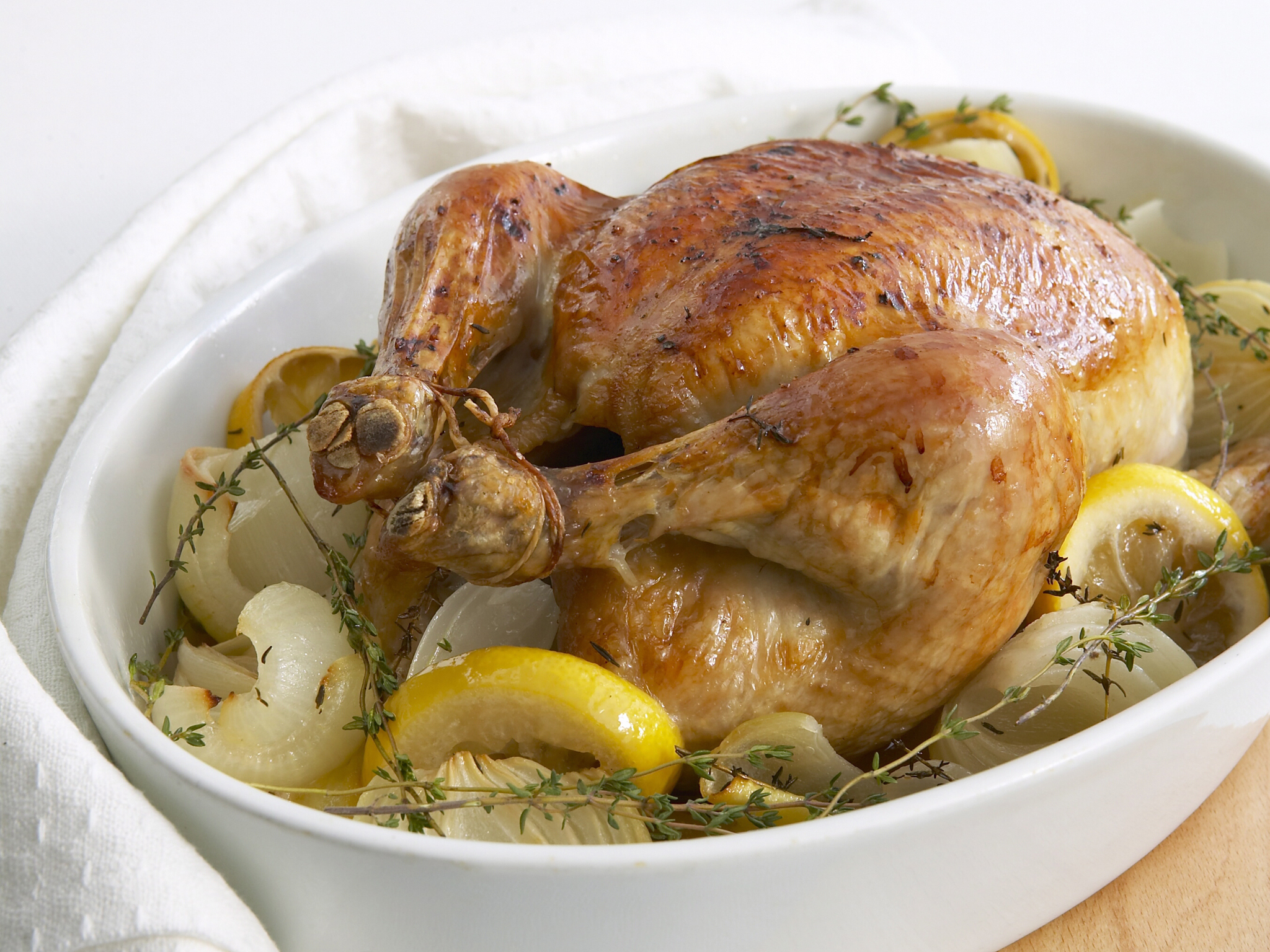 Chicken with thyme recipe
