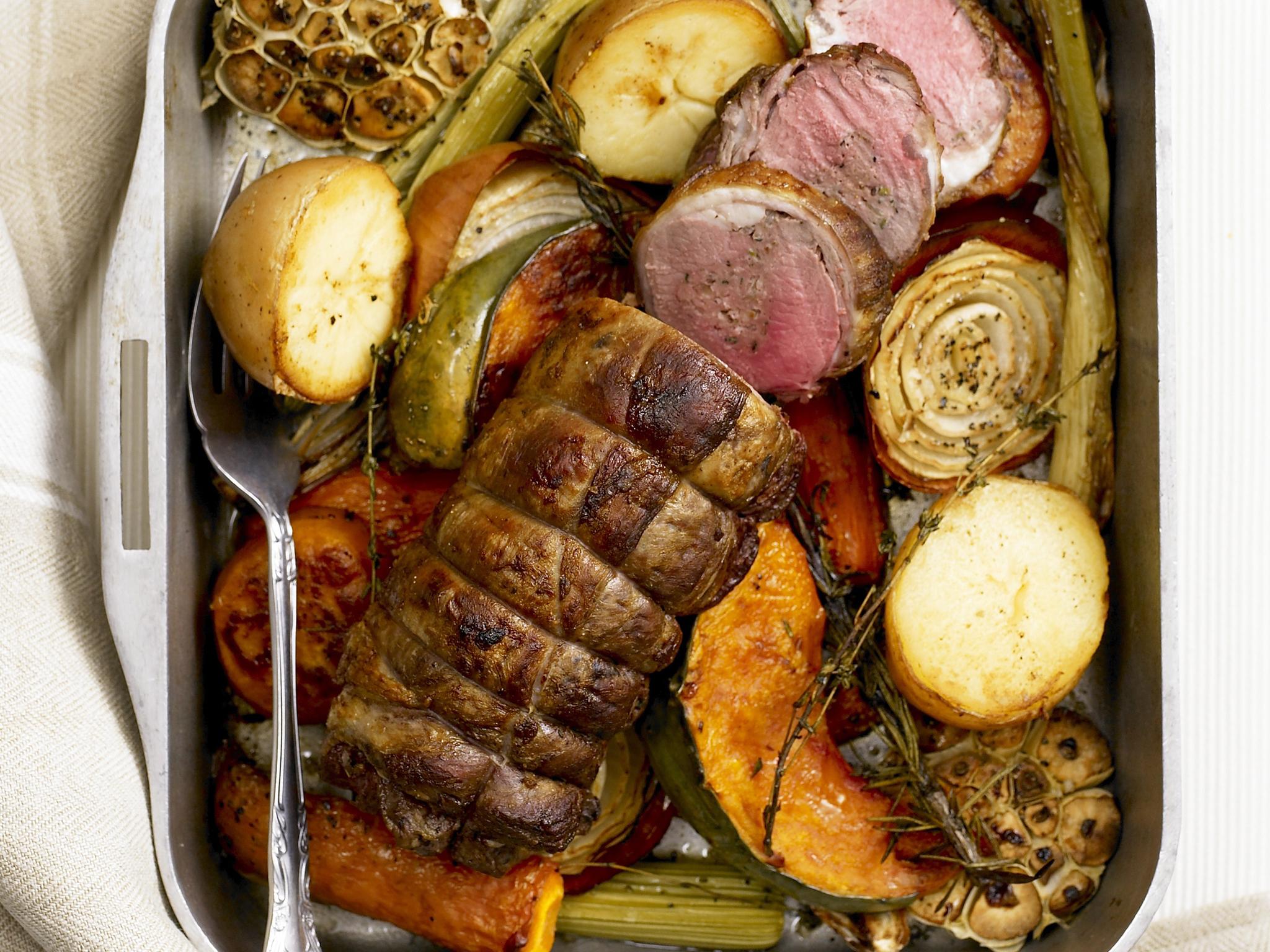Roast lamb loin recipe   Food To Love for Lamb Loin Whole  45hul