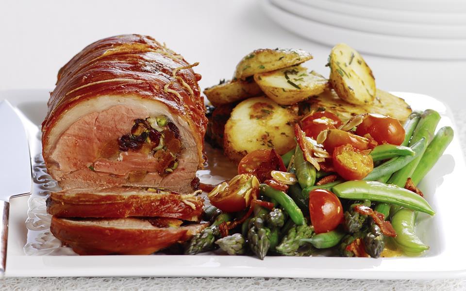 Prosciutto Wrapped Pork Tenderloin   Platings + Pairings